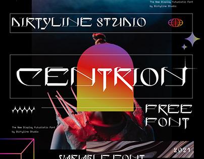 CENTRION - Free Font