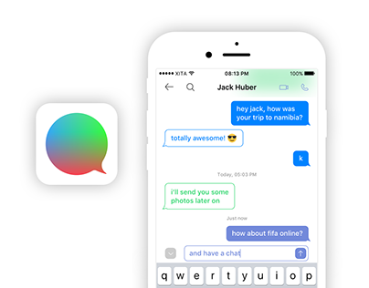 App concept: Messengers