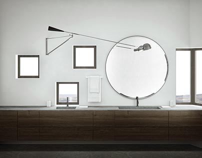 Visualization for interior designer Christel Boquist.