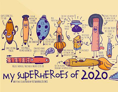 My Superheroes of 2020