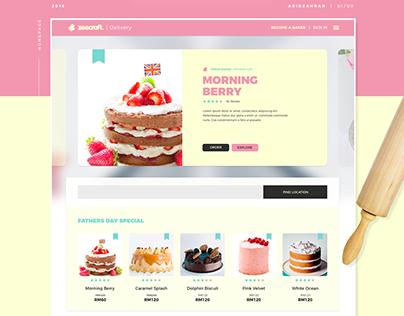 Cake - Free Adobe XD UI Kit