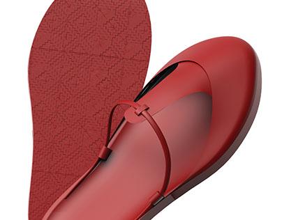 YUCCIE, Slipper Design