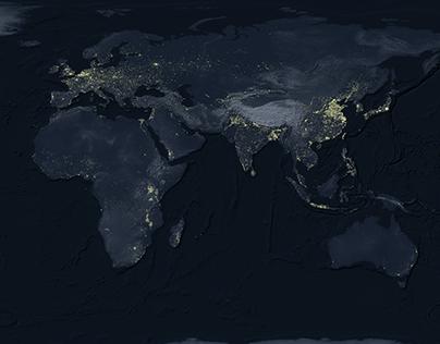 Worldwide night