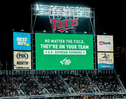 United Soybean Board | Twins Baseball Stadium Takeover