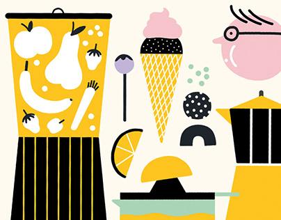 Fattori Ice cream shop