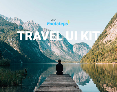 Footsteps Free Travel UI Kit
