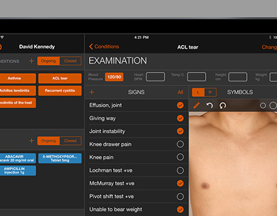 Medical Records iPad App