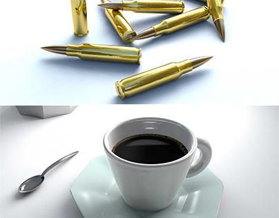 3D Design - Rendering - Object - Industrial Design
