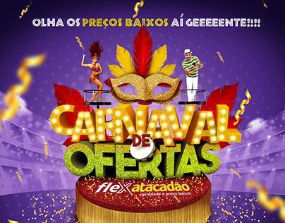 Flex Atacadão - Carnaval de Ofertas