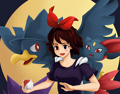 Ghibli x Pokemon