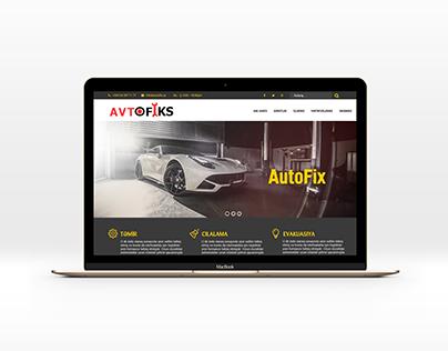 Autorepair website template