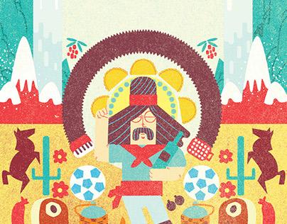 Wine Republic cover Illustration