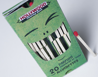 Hollywood chewing gum - Packaging
