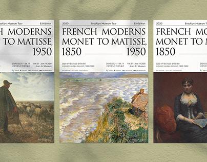 프렌치모던: 모네에서 마티스까지 French Moderns : Monet to Matisse