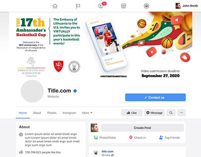 Lietuvos ambasados renginio atributika Facebook'ui