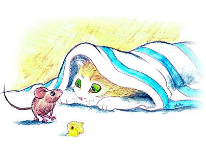 Traditional Illustration Illustration