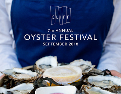 CLIFF Oyster Festival promotional materials.