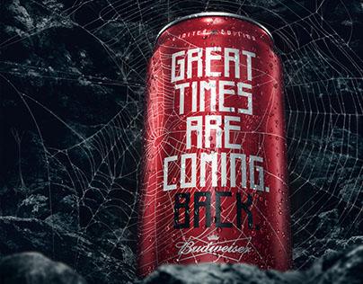 Budweiser . Spider