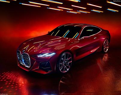 BMW The 4 Concept 2019, 3D Parametric Modelling