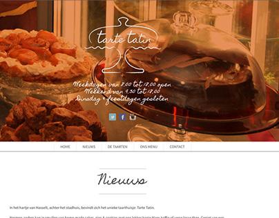 Webdesign - Tarte Tatin Hasselt