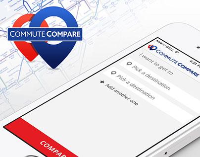 Commute Compare | Interface Design