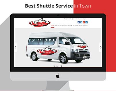 Go Sydney Shuttle Logo & Website Design