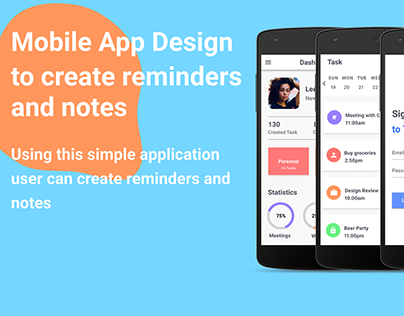 Mobile app task manager/ Android task manager