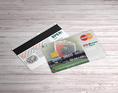 Credit card design   US Maranese