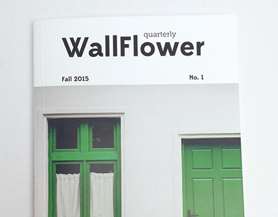 WallFlower Quarterly Magazine Design