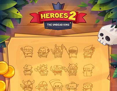 Heroes 2 The Undead King