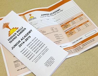 Indian Wells Tennis Garden Junior Academy Brochure