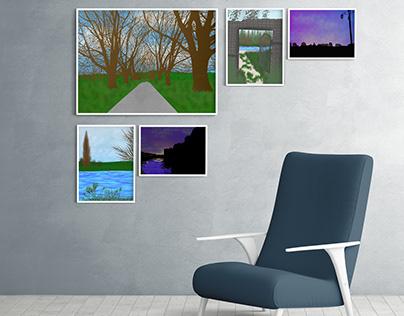 #procreate_landscapes