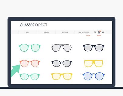 Glasses Direct - Web Tutorials