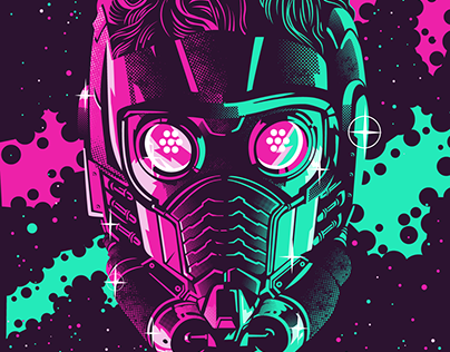 Starlord Illustration