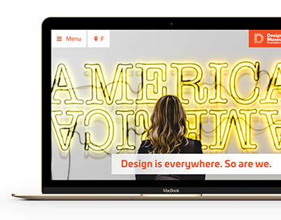Website redesign - Design Museum Foundation