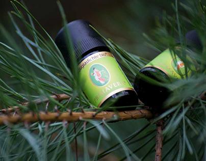 Oils product photoshoot