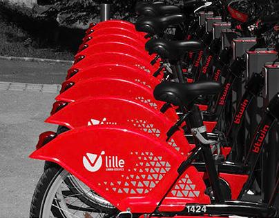 V'LILLE / Bike sharing system - Décathlon 2011