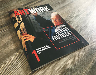Editorial Design / ARTWORK Magazin (Studienarbeit)