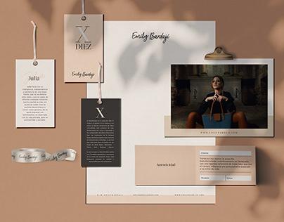Emily Bardaji - Branding