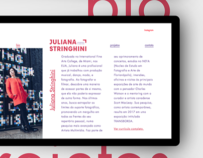 Juliana Stringhini | Website