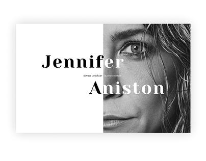 Landing page | Jennifer Aniston