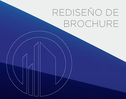 Rediseño de Brochure empresa EA Buildings