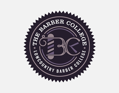 The Barber College Logo Design
