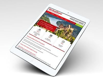 New Event Detail Mockup Page for Barrhead Travel