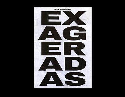 EXAGERADAS