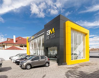 Patio BM Autos | Arquitectura Comercial