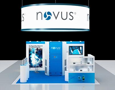 3D Concept Design - Exhibition booth for NOVUS