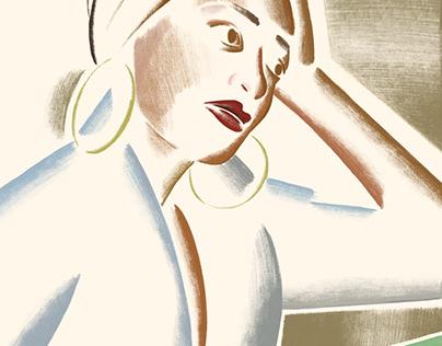 Zadie Smith portrait