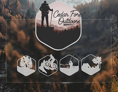 Cedar Forest Outdoors logo