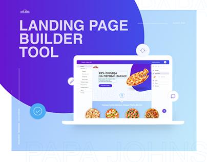Landing Page Builder Tool